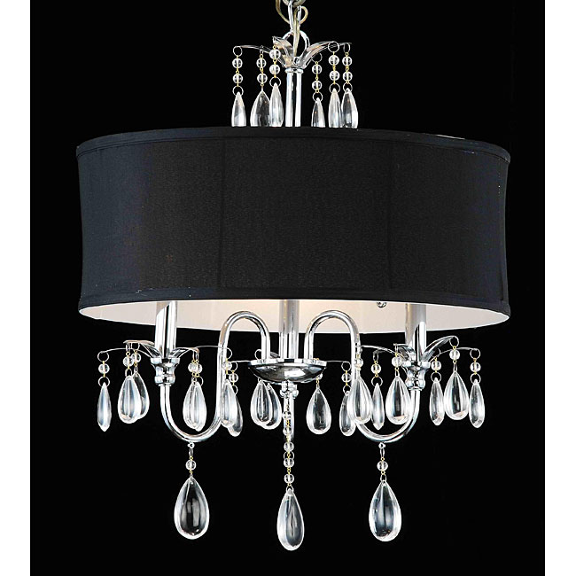 Friday's Frivolty: Drum Shade Chandeliers