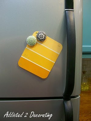 Friday's Frivolty: Designer Button Magnets