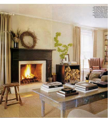 You Will Also Notice In This Picture They Have Balanced The Off Center Fireplace