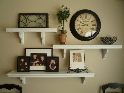 Designed to the nines natalee 9 1 1 floating wall shelves for Shelf decor items