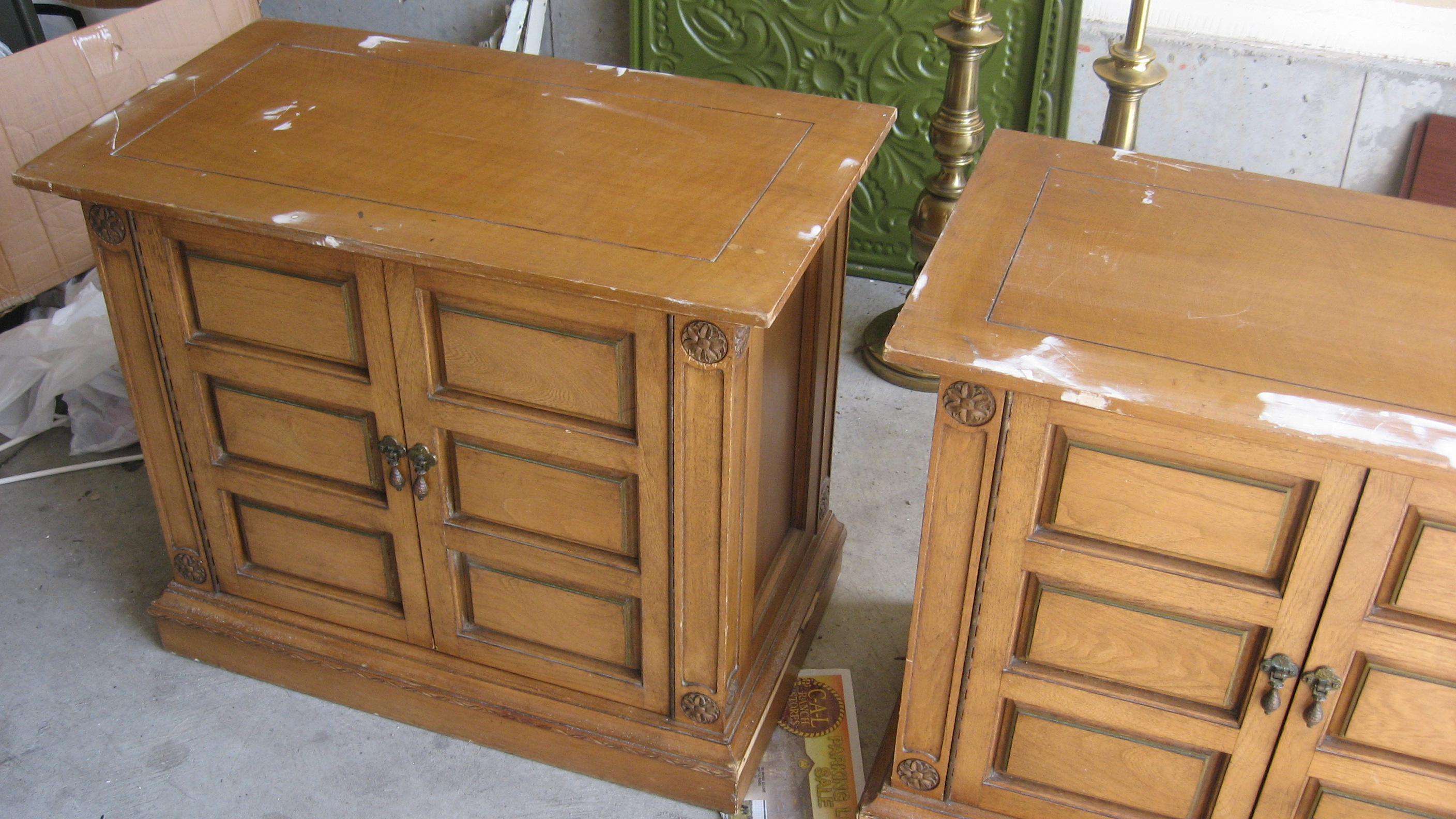 designed to the nines   make your own mirrored furniture! Make Your Own Nightstand