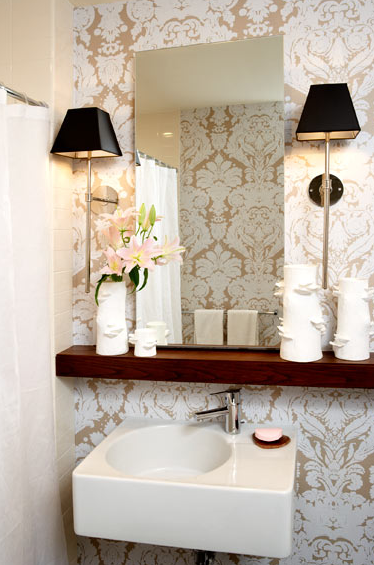 Fun New Ways to Use Traditional Damask