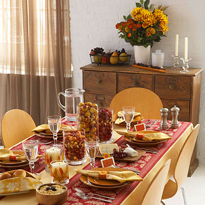 Designed To The Nines | Last Minute Thanksgiving Table Ideas