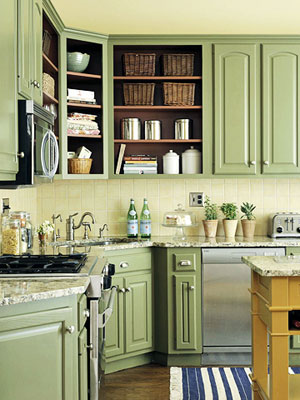 Designed To The Nines | Trend Watch: Fresh Colors for Painted Cabinets