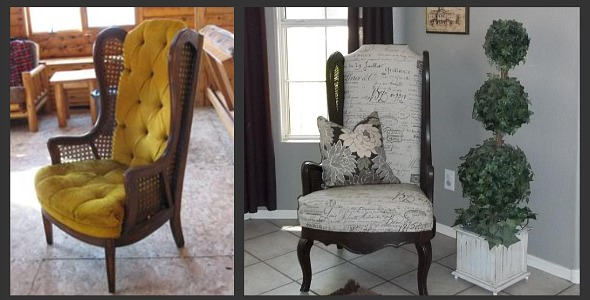 Layla Grayce Inspired Chair Makeover