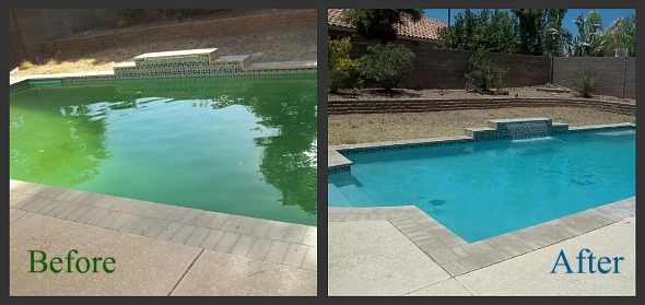 How to Clean a Green Swim Pool