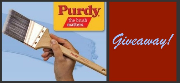 Purdy Pro Brush Set Giveaway!**Closed**