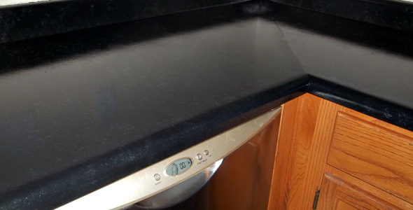 Giani Painted Granite Counters: Final Steps and Outcome