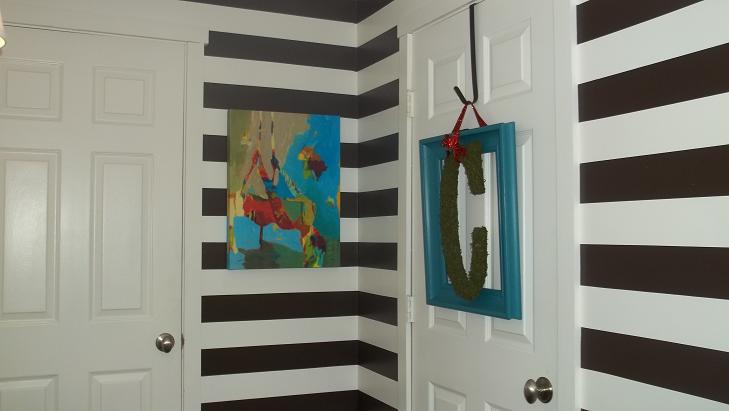 Entry Way Reveal: A Nod To My Old Half Bath