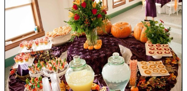 Autumn Wonderland Wedding, Part 2: The Reception