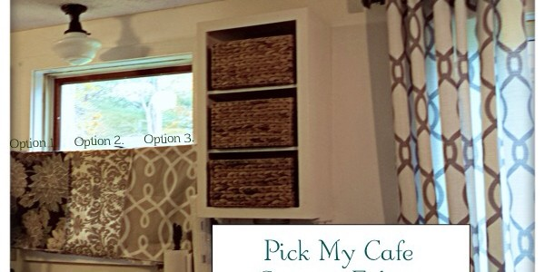 Pick My Cafe Curtain
