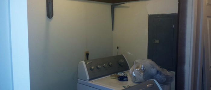 My Laundry Room Needs Help. Bad.