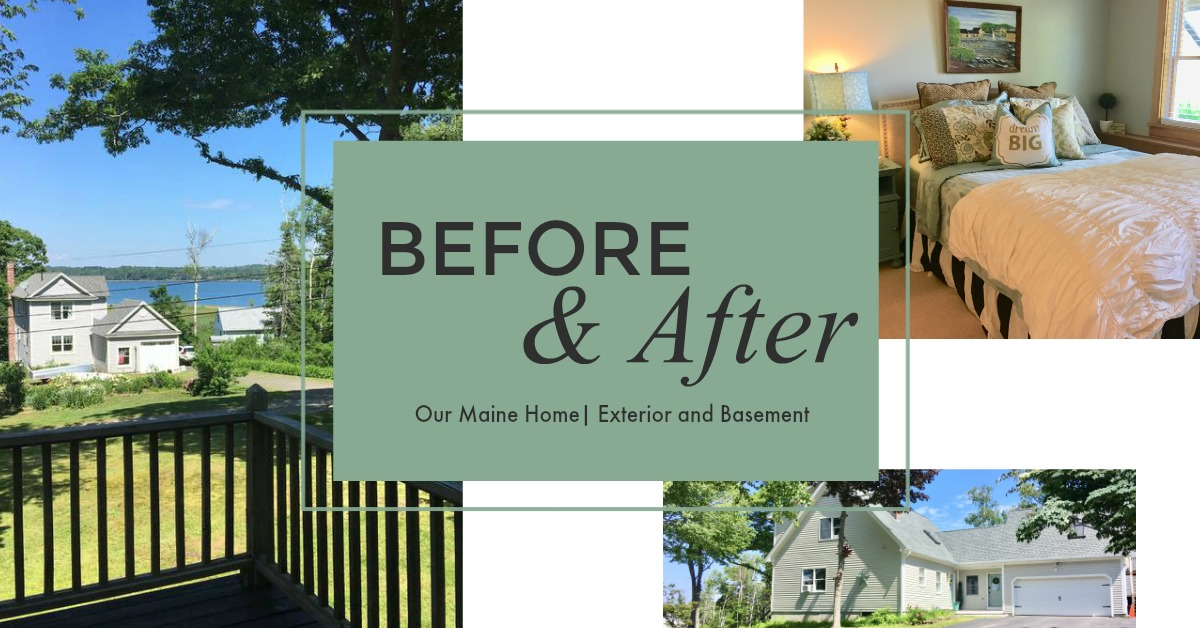 Before and After: Maine Home