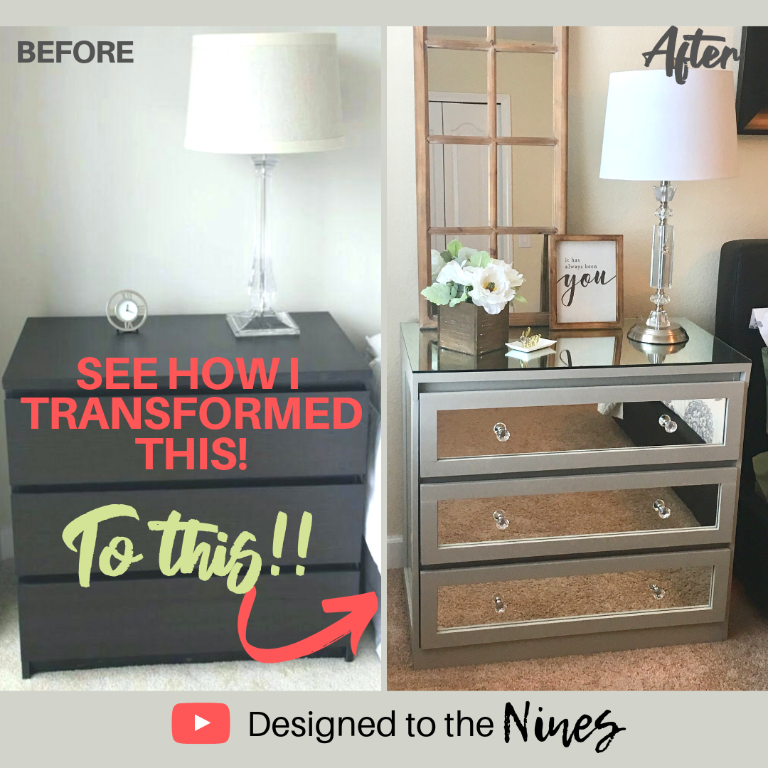 Designed To The Nines Ikea Dresser Transformed Into